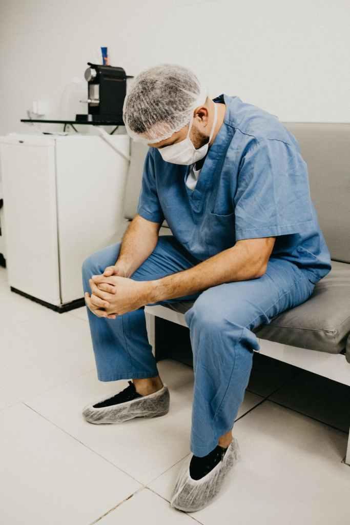 Local London nurse after his positive drug test result