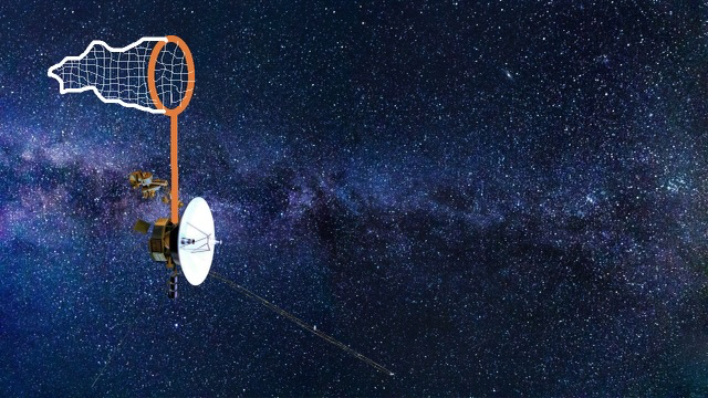 Initial Sketch of Voyager with a massive Dark Matter Net